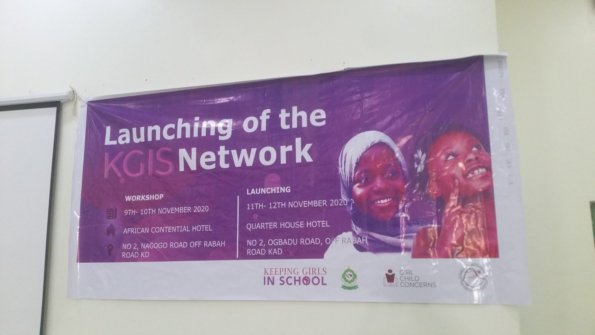 LAUNCHING OF THE KGIS NETWORK