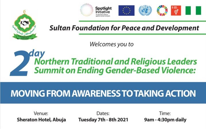 Northern Traditional and Religious Leaders  Summit on Ending Gender-Based Violence